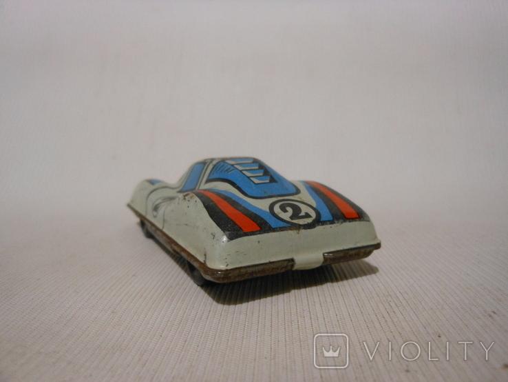 Гоночная машинка СССР (жесть), фото №4