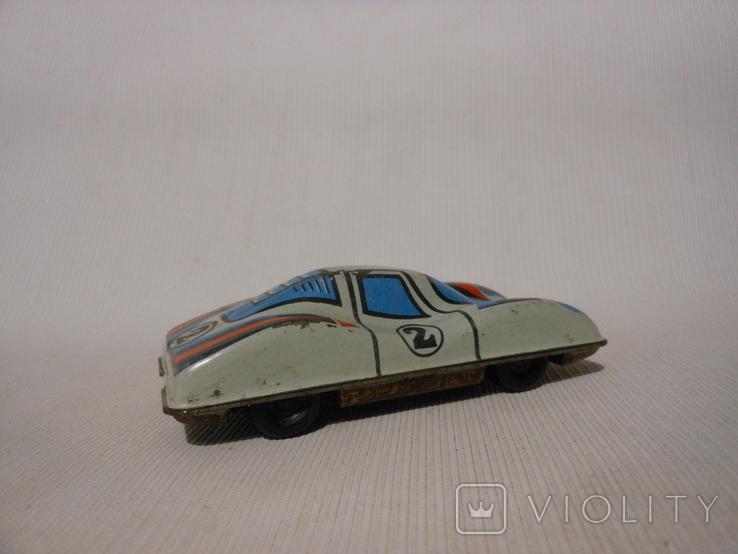Гоночная машинка СССР (жесть), фото №5