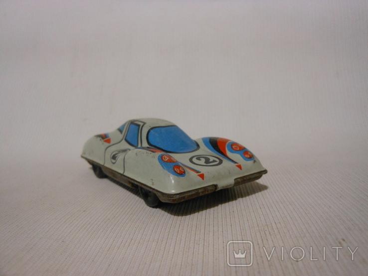 Гоночная машинка СССР (жесть), фото №6