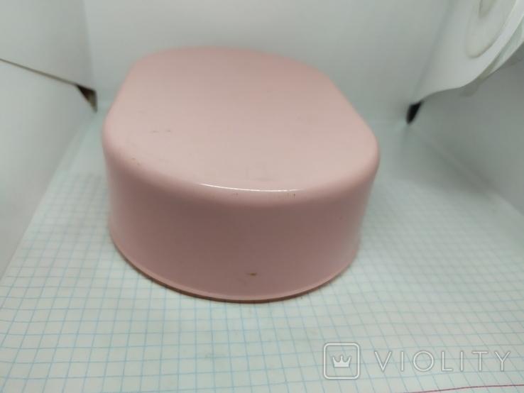Розовая коробочка из СССР. 165х105х45мм, фото №4