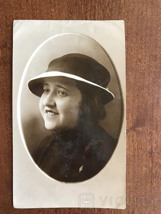 1936 Одесса Девушка в шляпке, фото №3