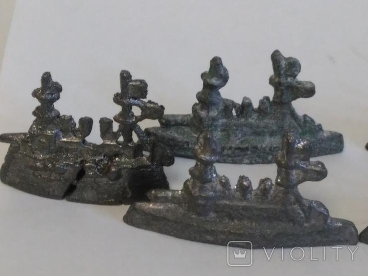 Фигурки кораблей, фото №12