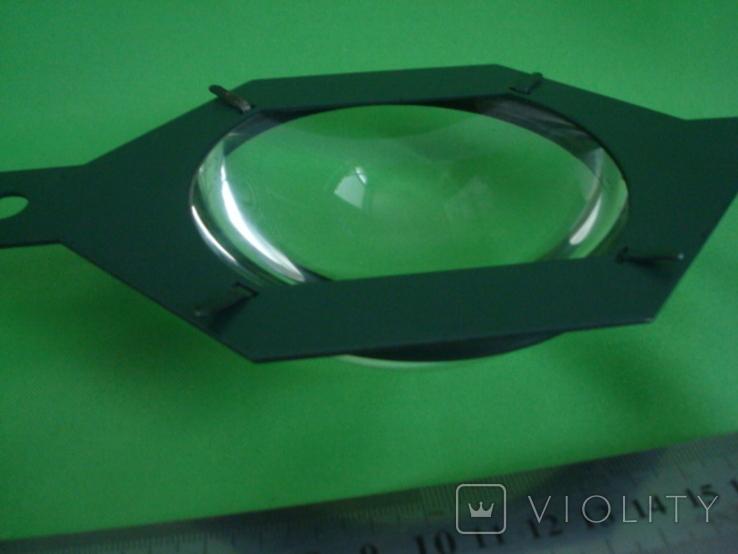 Большая линза диаметр 10см., фото №6