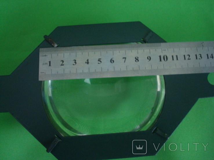 Большая линза диаметр 10см., фото №7