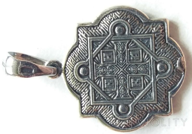 Новая. Серебряная иконка - подвеска 925 проба., фото №7