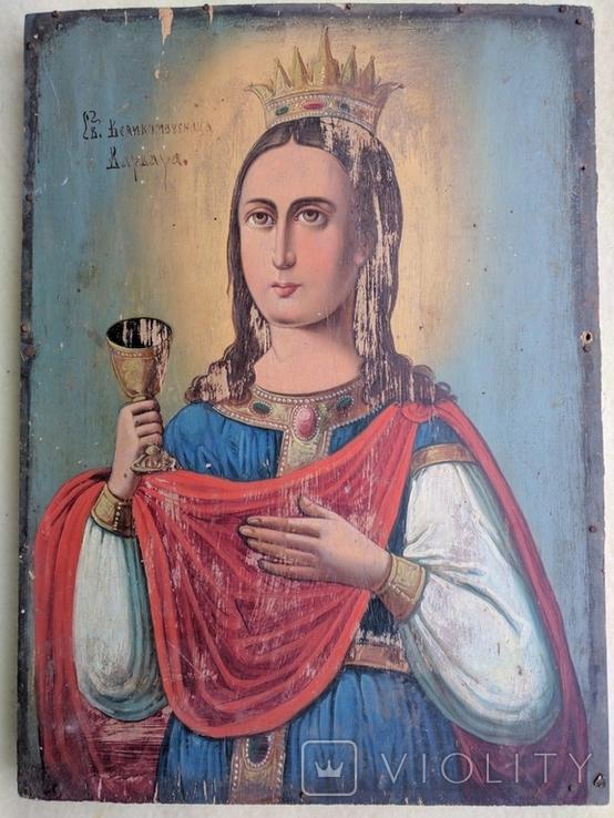 "Икона -"" Св.Великомученица Варвара"", фото №2"