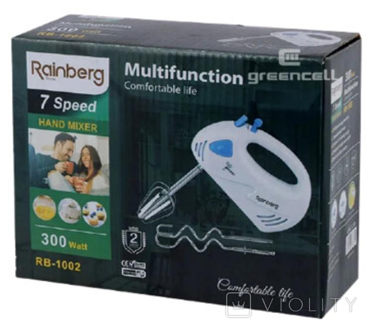 Миксер ручной кухонный Rainberg RB-1002, фото №9