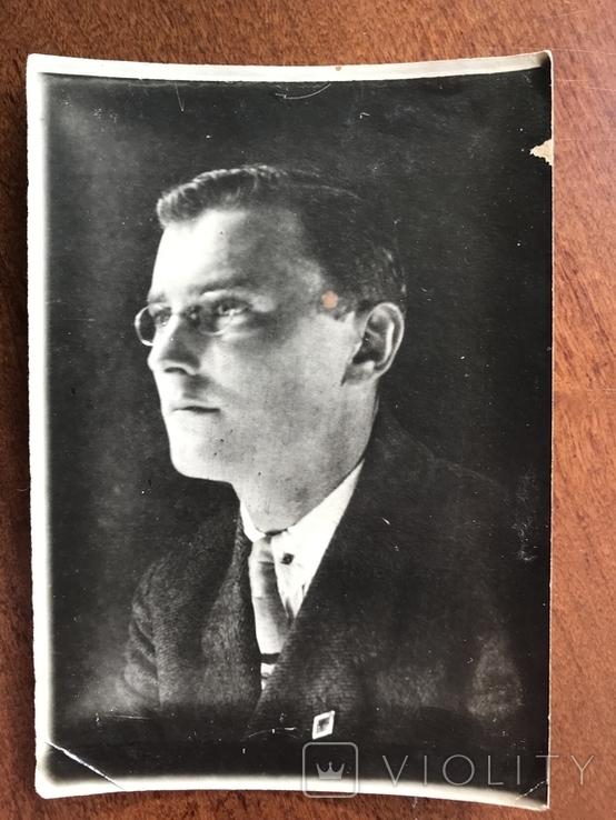 1930 Одесса Мужчина в костюме Очки, фото №3