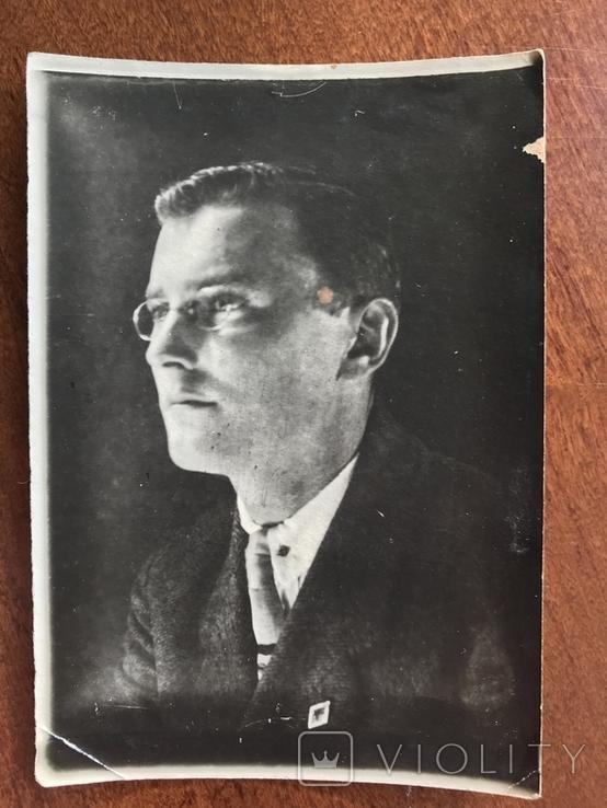 1930 Одесса Мужчина в костюме Очки, фото №2
