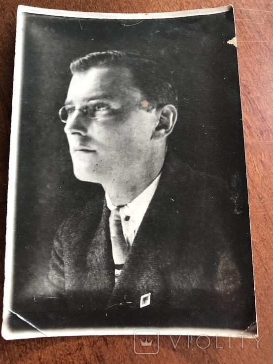 1930 Одесса Мужчина в костюме Очки, фото №4