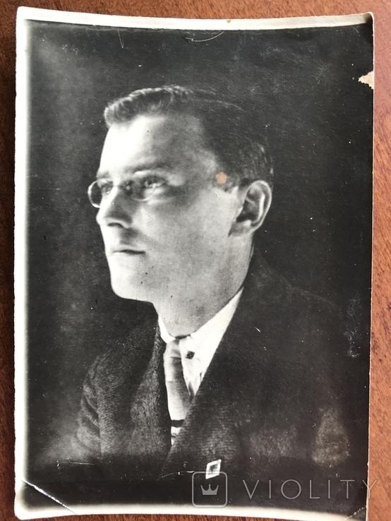 1930 Одесса Мужчина в костюме Очки, фото №7
