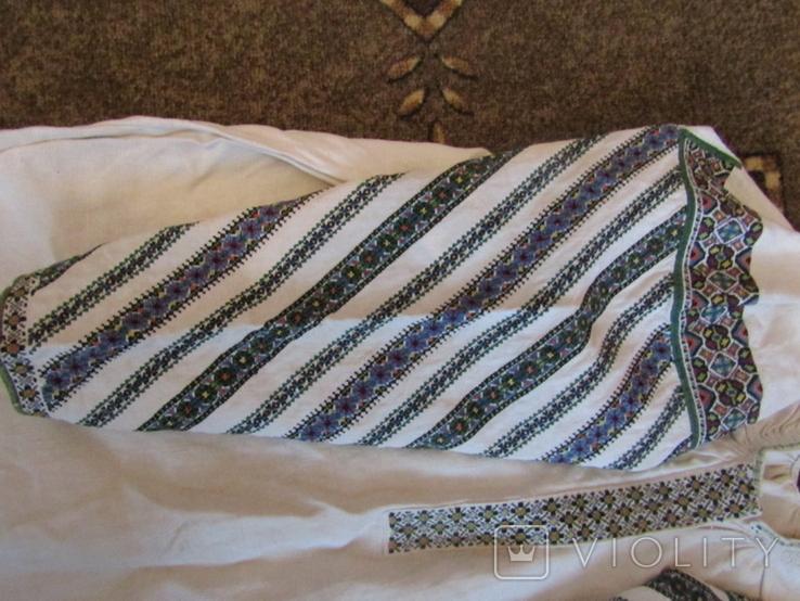 ЗахіднеПоділля. Старовинна вишита сорочка., фото №3