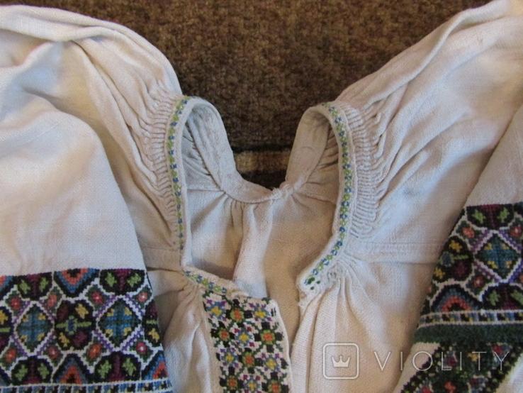ЗахіднеПоділля. Старовинна вишита сорочка., фото №6