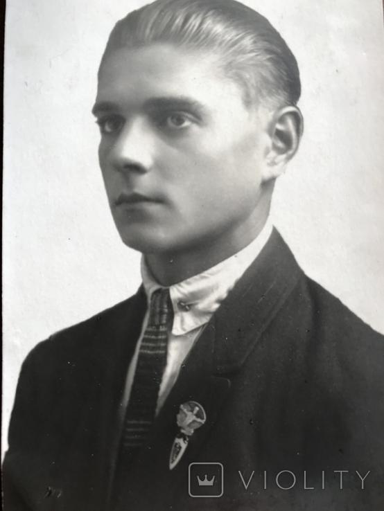 1927 Парень в галстуке Знак, фото №9