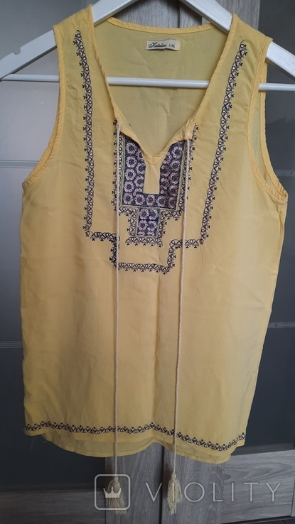 Блузка с вышивкой, фото №3