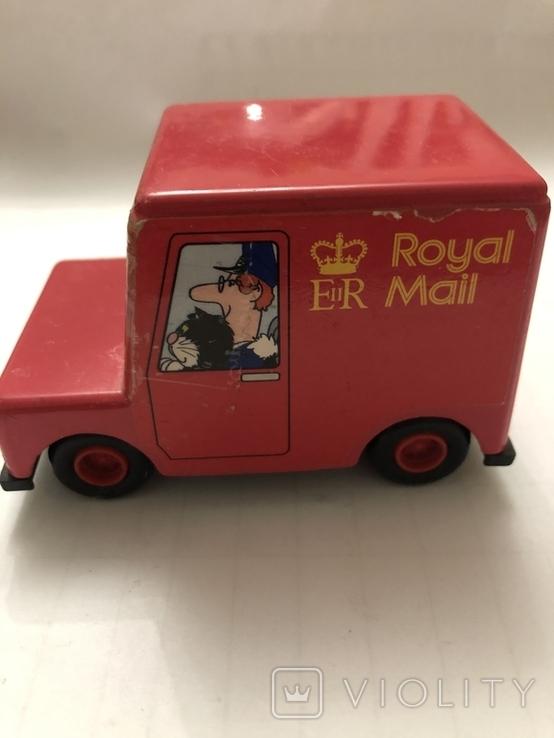 Машинка Royal Mail ERTL 1983, фото №4