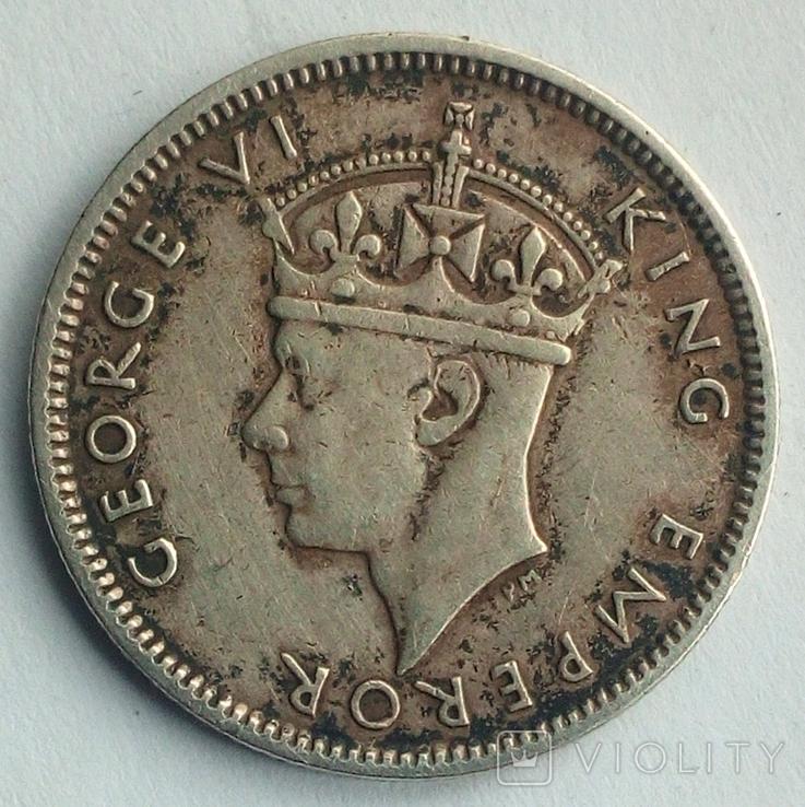 Фиджи 6 пенсов 1942 г., фото №3