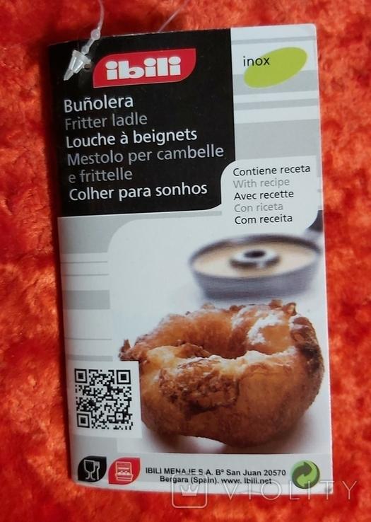 Форма приспособление для выпечки пончиков. Испания., фото №12