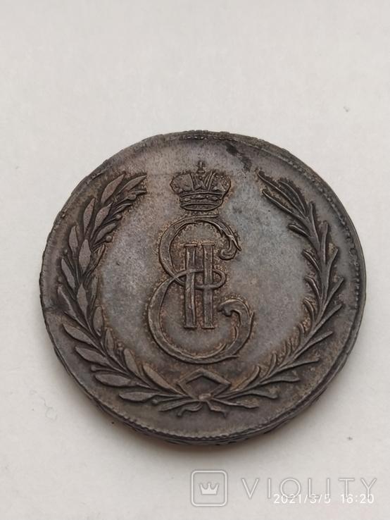 Копія 5 копійок 1764, фото №2