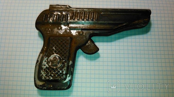 Пистолет под пистоны. СССР., фото №3
