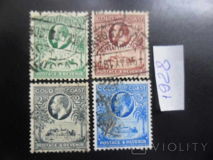 Британские колонии. Голд Кост ( Золотой берег) 1928 г. гаш