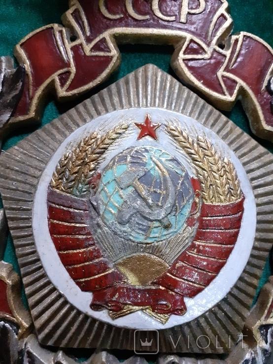 Барельеф 50лет ссср копия, фото №11