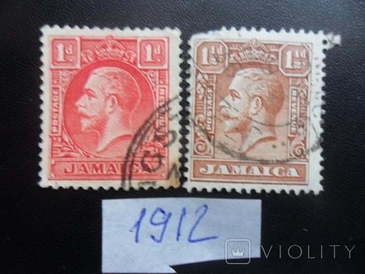 Британские колонии. Ямайка. 1912 г. гаш