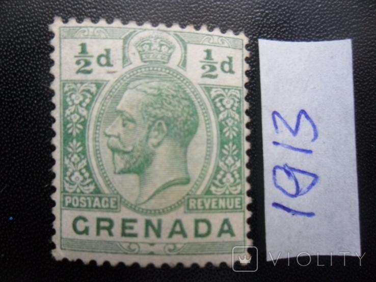 Британские колонии. Гренада. 1913 г. МН, фото №2