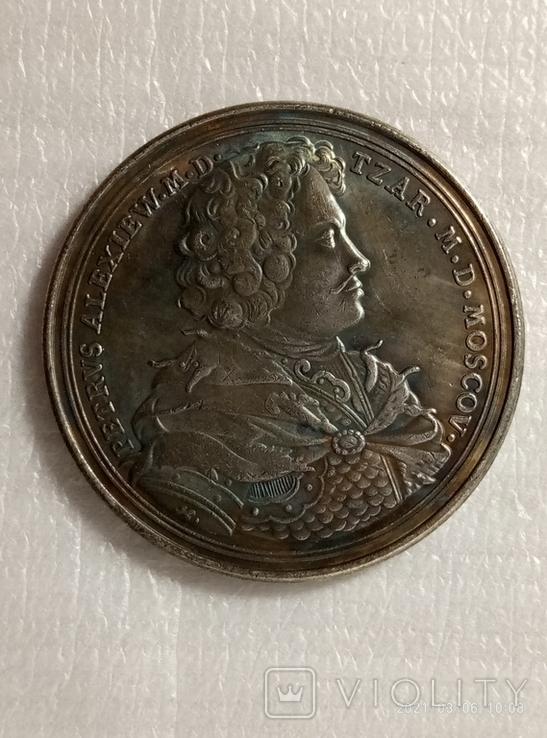 Памятная медаль в память Полтавского сражения (1709) v4 копия, фото №3