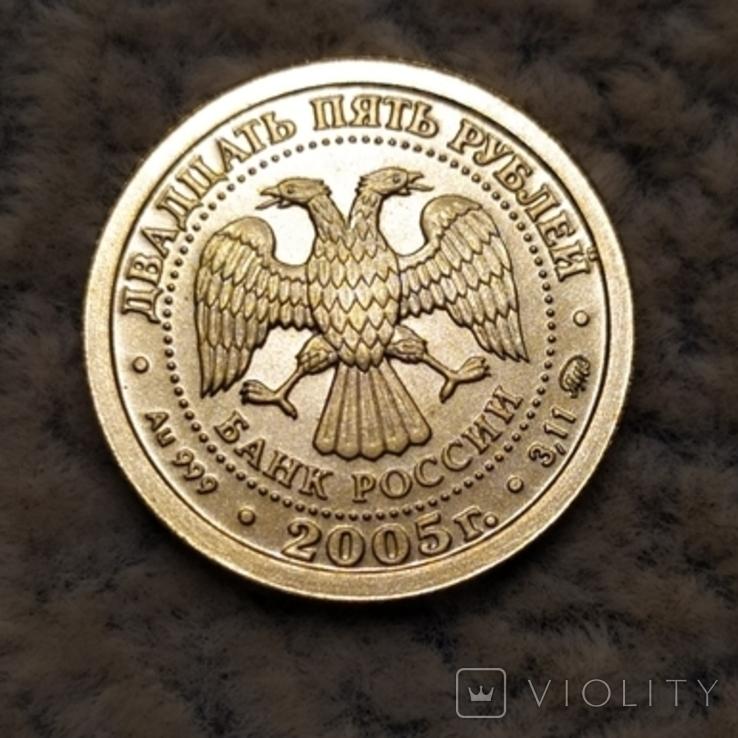 25 рублей 2005 г.Рак., фото №4