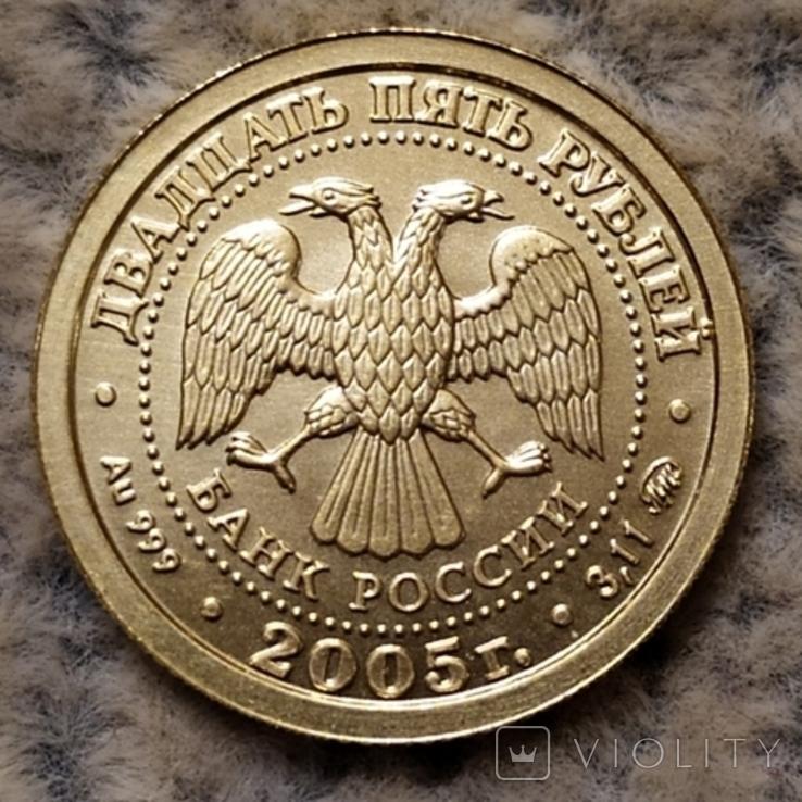 25 рублей 2005 г.Рак., фото №6