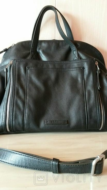 Женская кожанная сумка ESPRIT, фото №3