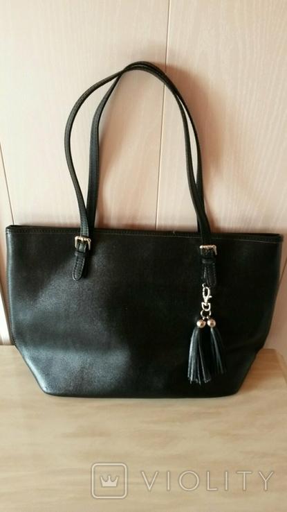 Женская кожанная сумка, фото №2