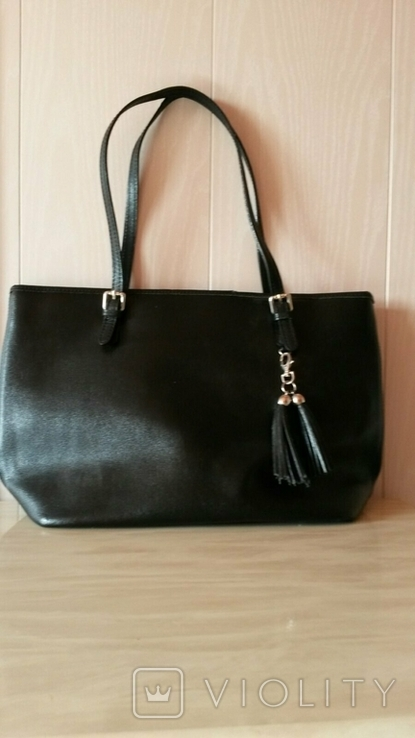 Женская кожанная сумка, фото №3