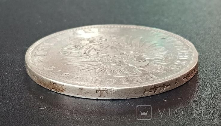 5 марок 1874 р. Баварія, фото №8