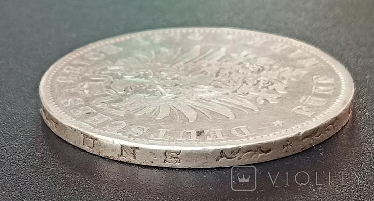 5 марок 1874 р. Баварія, фото №9
