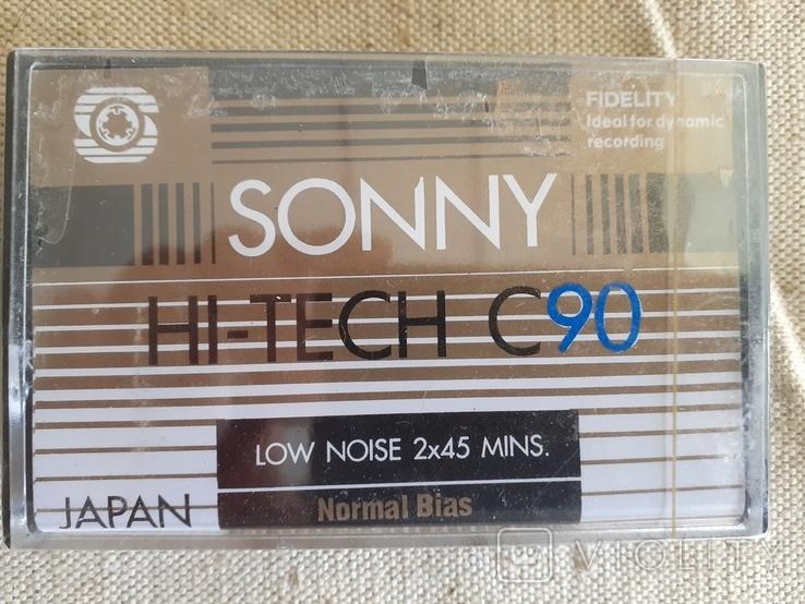 Аудио кассеты SONNY HI-TECH C90 новые 30 штук., фото №5