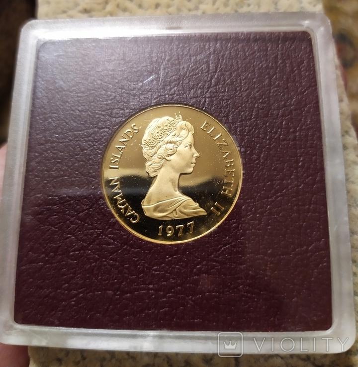 50 долларов 1977г.Каймановые о-ва., фото №2