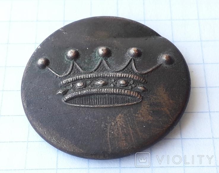 Большая Пуговица с Короной, фото №3