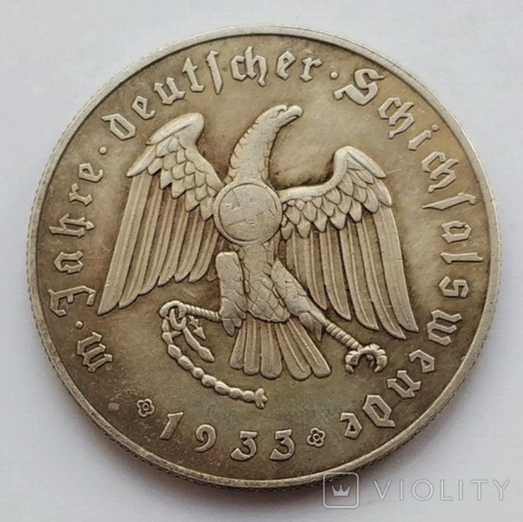 Германия. Третий Рейх. Рейхсканцлер Адольф Гитлер 1933 г. (копия), фото №3