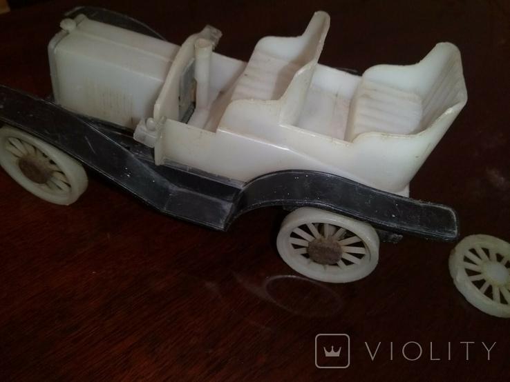 Машинка СССР белый фаэтон, фото №3