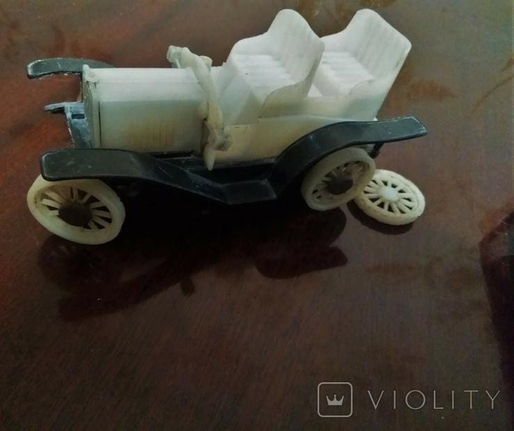 Машинка СССР белый фаэтон, фото №2
