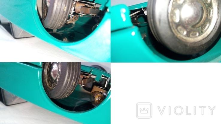 3622 автомобиль на дистанционном управлении электромеханический из СССР на батарейка, фото №6