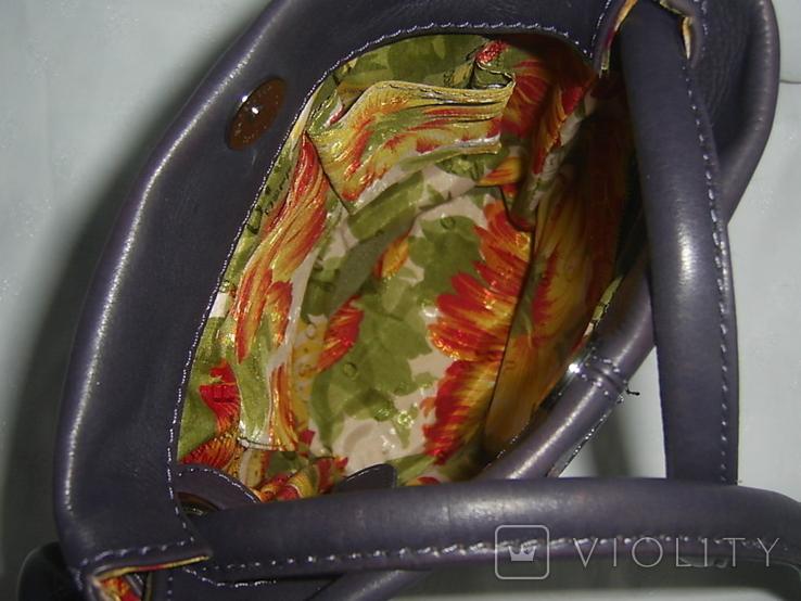 Сумочка кожаная на плечо Osprey, фото №10