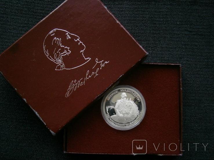 США пол-доллара 1982 г. Вашингтон, фото №2