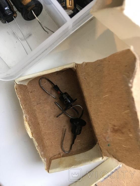 Радиодетали 120 шт. и лампочки 30 шт., фото №4
