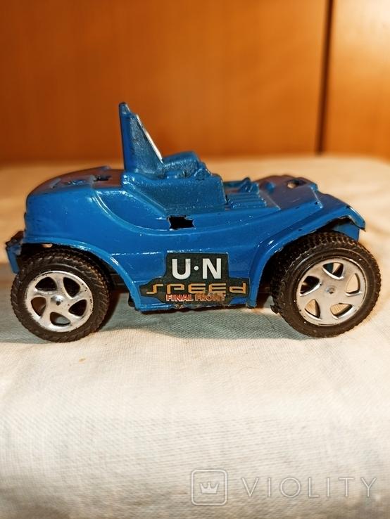 "Машинка ""Синий автомобиль""."