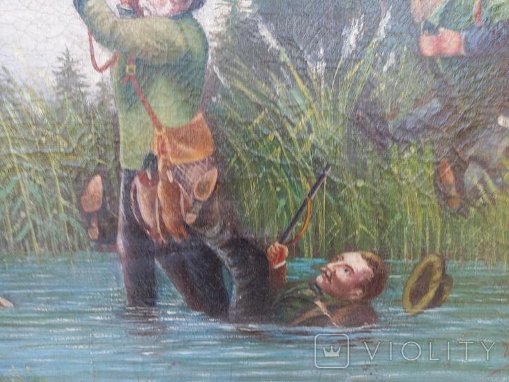 И . Бурлаков На охоте 1947 год, фото №4