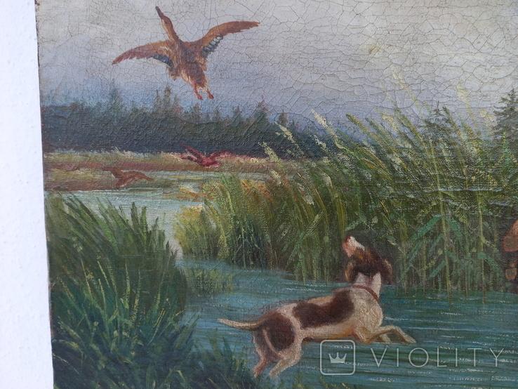 И . Бурлаков На охоте 1947 год, фото №5