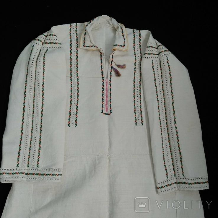 2. Буковинська сорочка вишиванка стародавня, фото №2